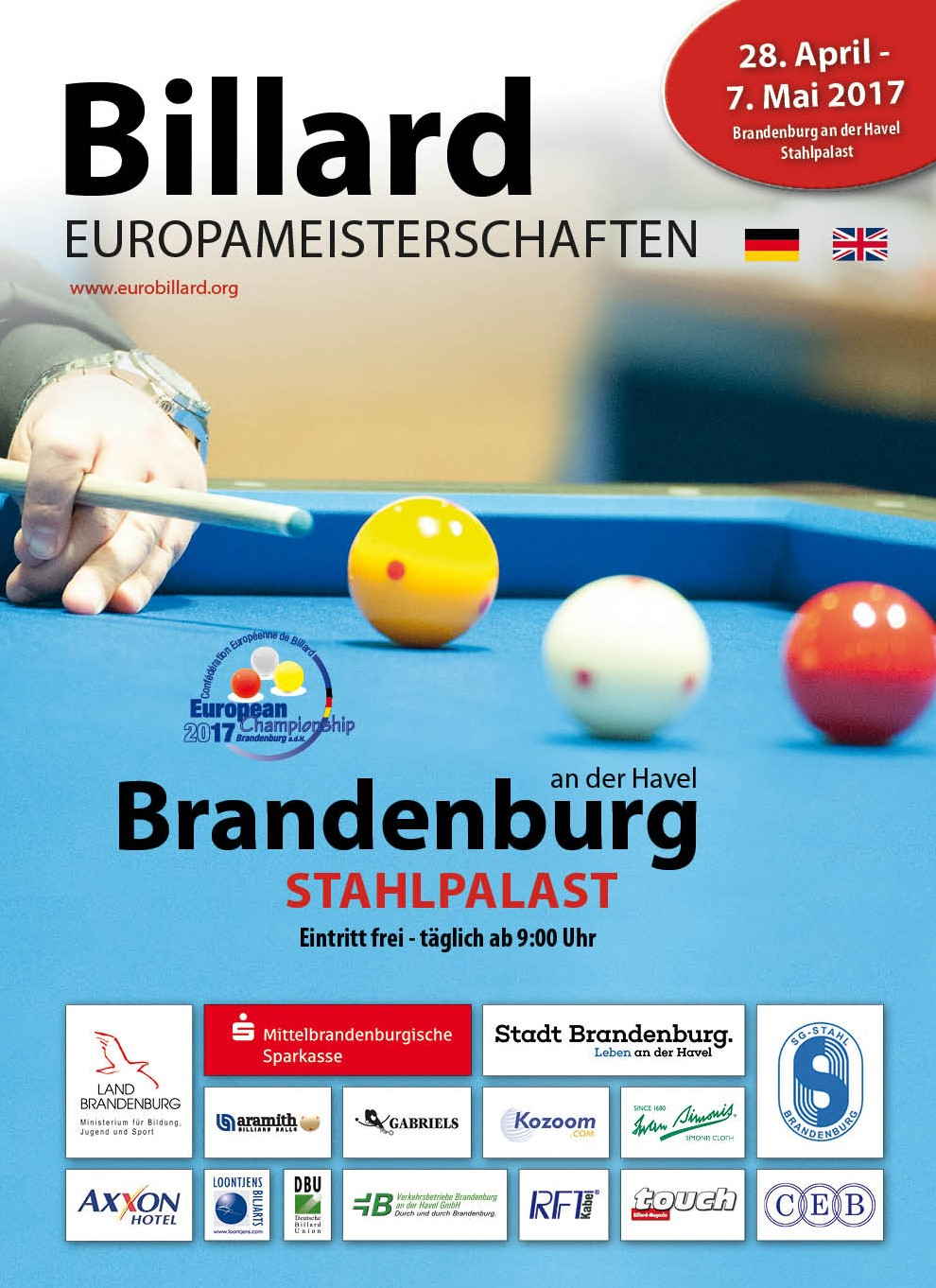 European Billiards Championships starts in a few days (copy 1)