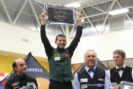 Murat Naci Coklu winner after final with eight Europeans