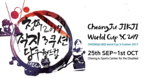 3-Cushion - Cheongju (KOR) World Cup
