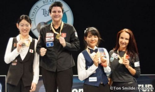 Another win in Turkey for Therese