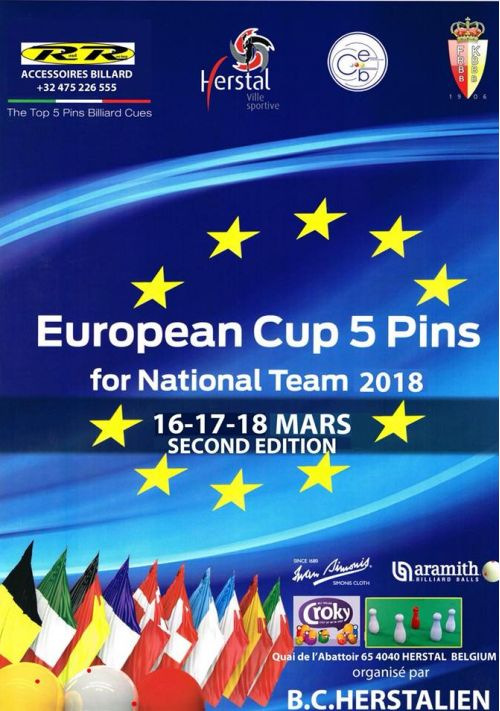 Coupe d'Europe 5-Pins National Teams - Herstal