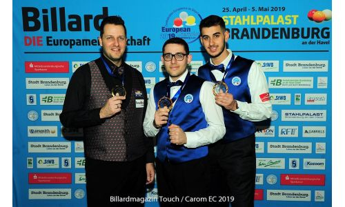 Day 7: Gold for Dave Christiani and Italian Youngsters