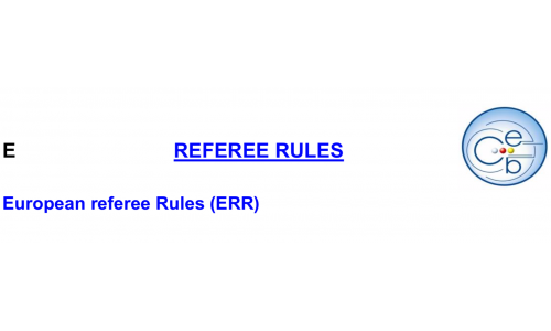 European referee rules