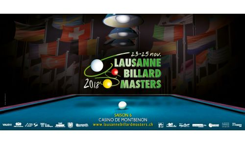 The sixth Lausanne Billiard Masters is about to kick off