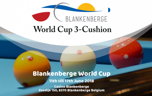 Third World Cup of 2018 takes place on the Belgian coast.