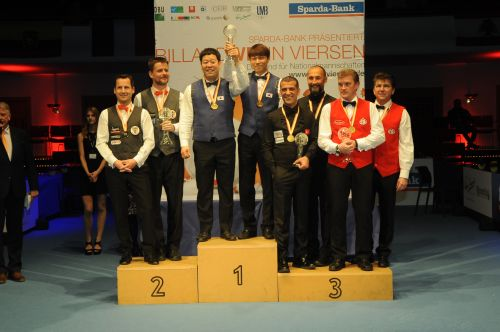 World Three-cushion Championship for National Teams - Viersen 2018
