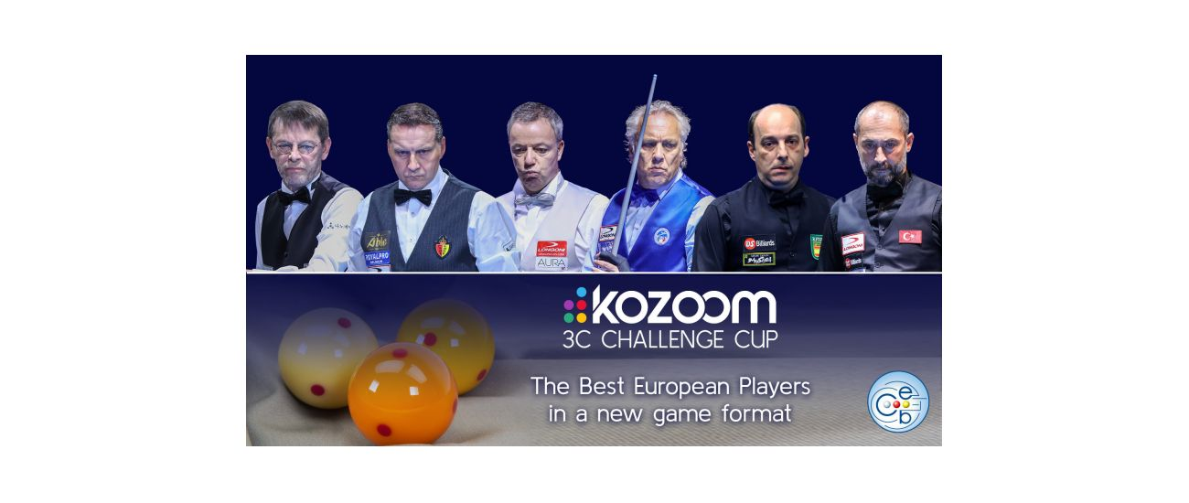ALL DETAILS ABOUT THE KOZOOM 3-CUSHION CHALLENGE CUP