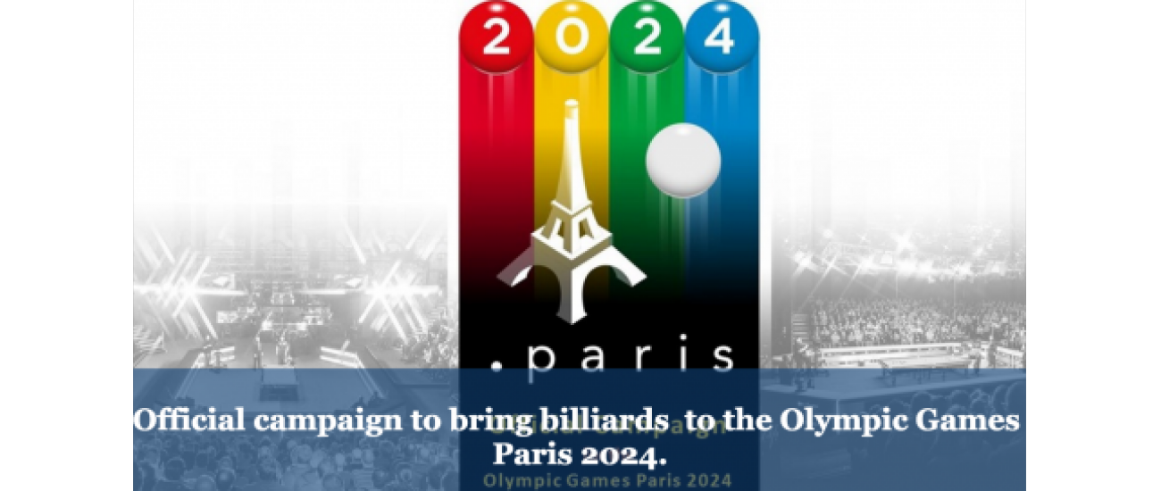 Official campaign to bring billiards to the Olympic Games Paris 2024