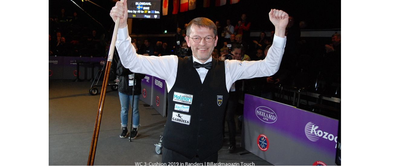A SEVENTH WORLD CROWN FOR TORBJÖRN BLOMDAHL
